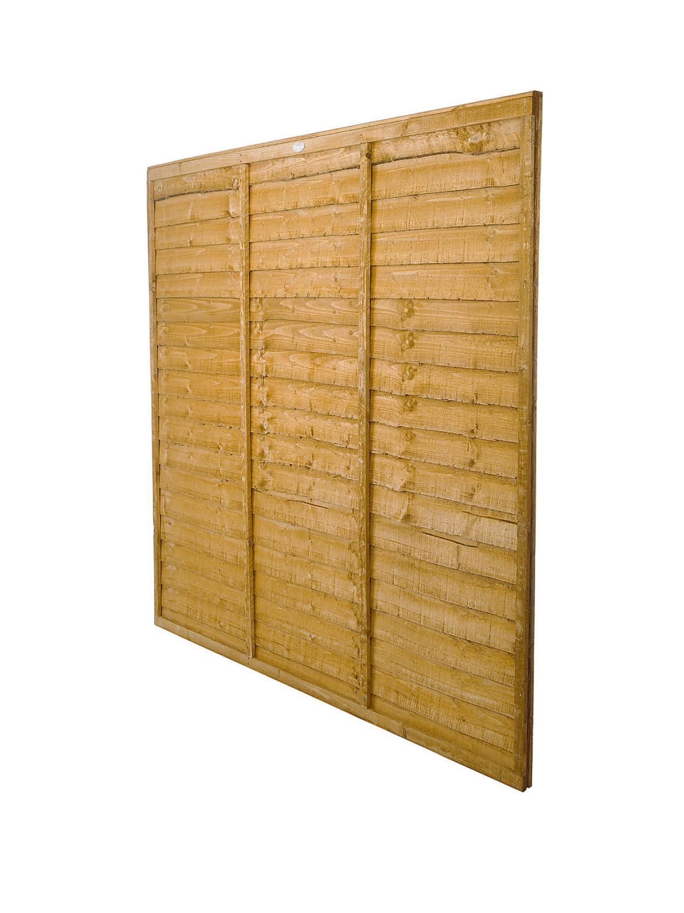 Trade Lap Panel 6 x 6ft Fence Panels (Pack of 7 )