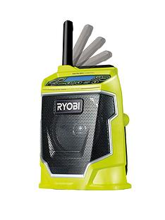 ryobi-cdr180m-one-18-volt-cordless-mp3-compatible-radio-without-one-battery