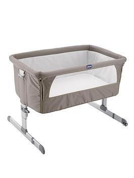 chicco-next-2-me-crib-dove-grey