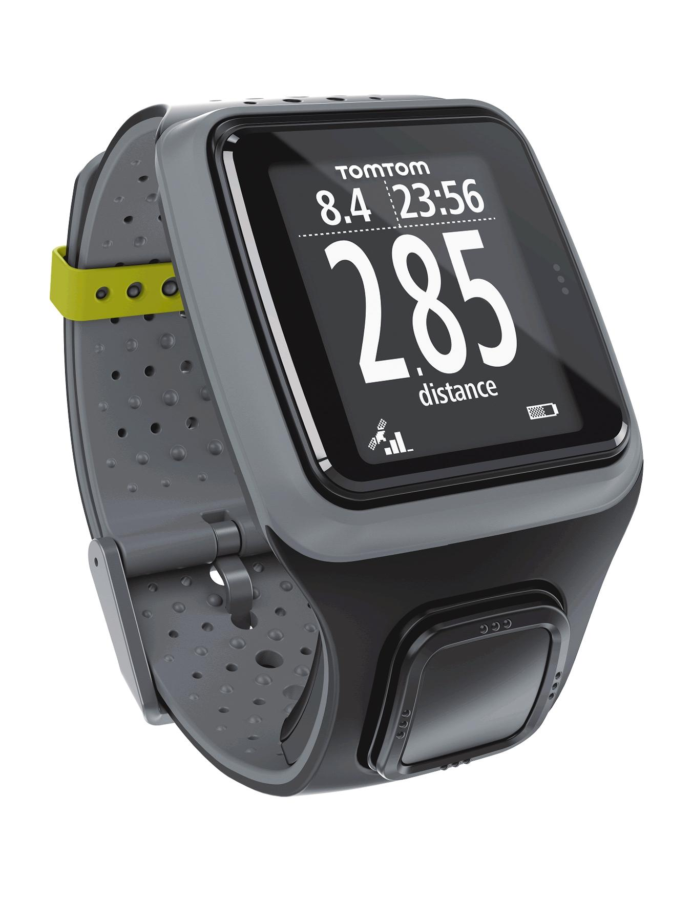 Multi-Sport GPS Watch, Black