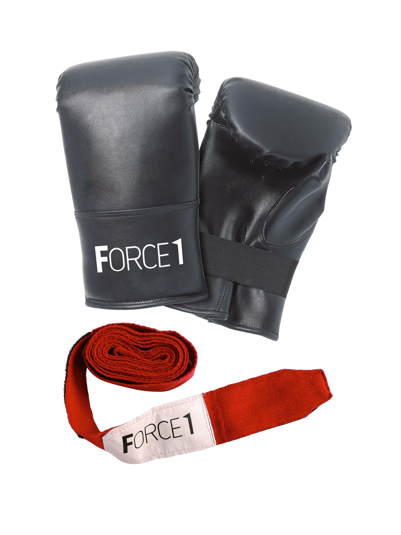 FORCE 1 Boxing Mitts and Straps