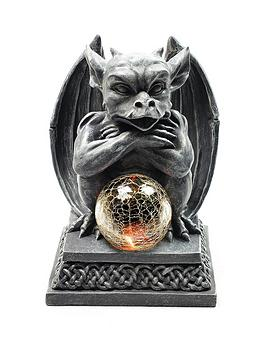 gargoyle-garden-solar-light-20cm-high-sitting