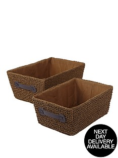 knitted-paperloom-tapered-baskets