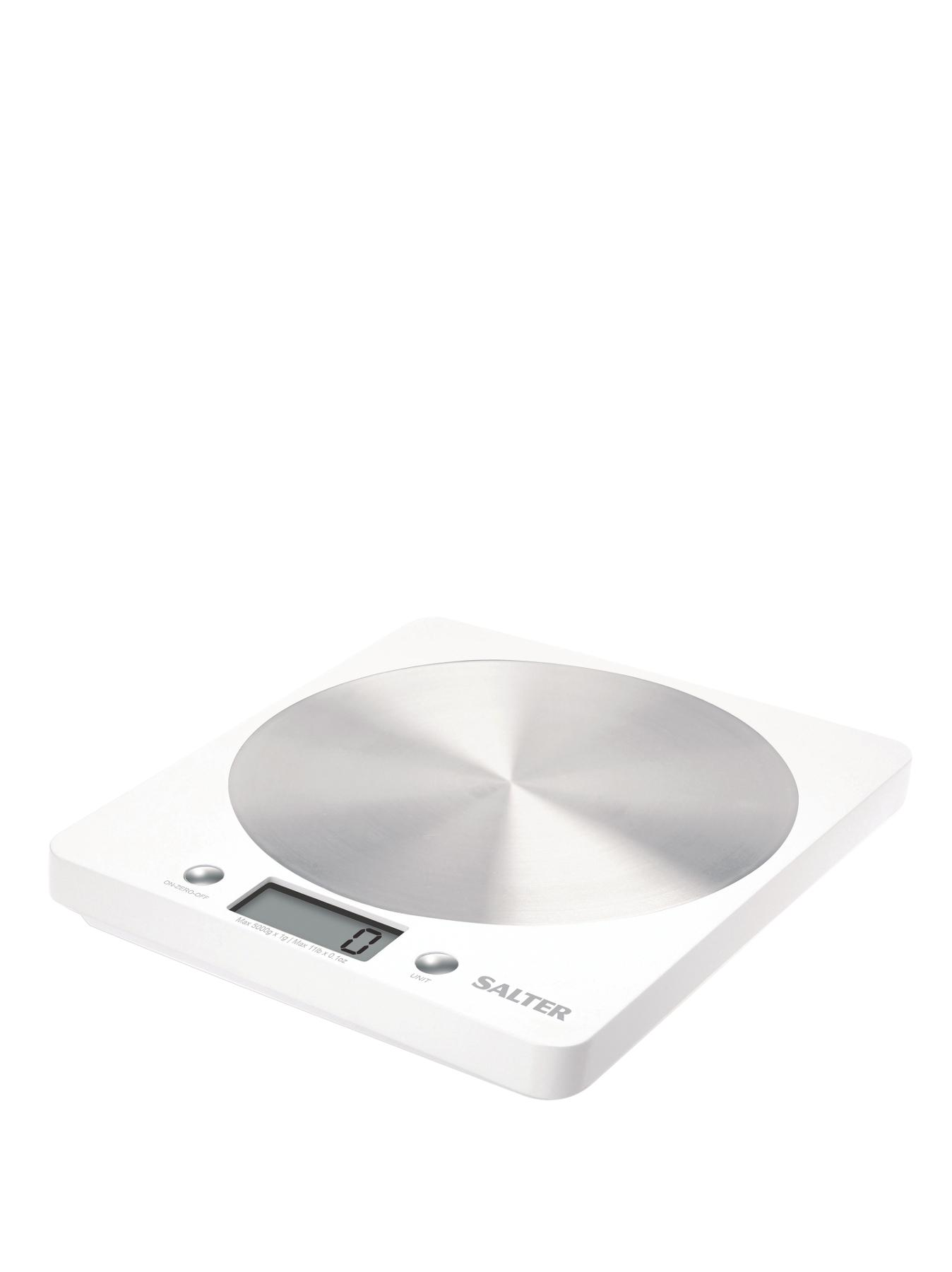 Disc Electronic Scale - White