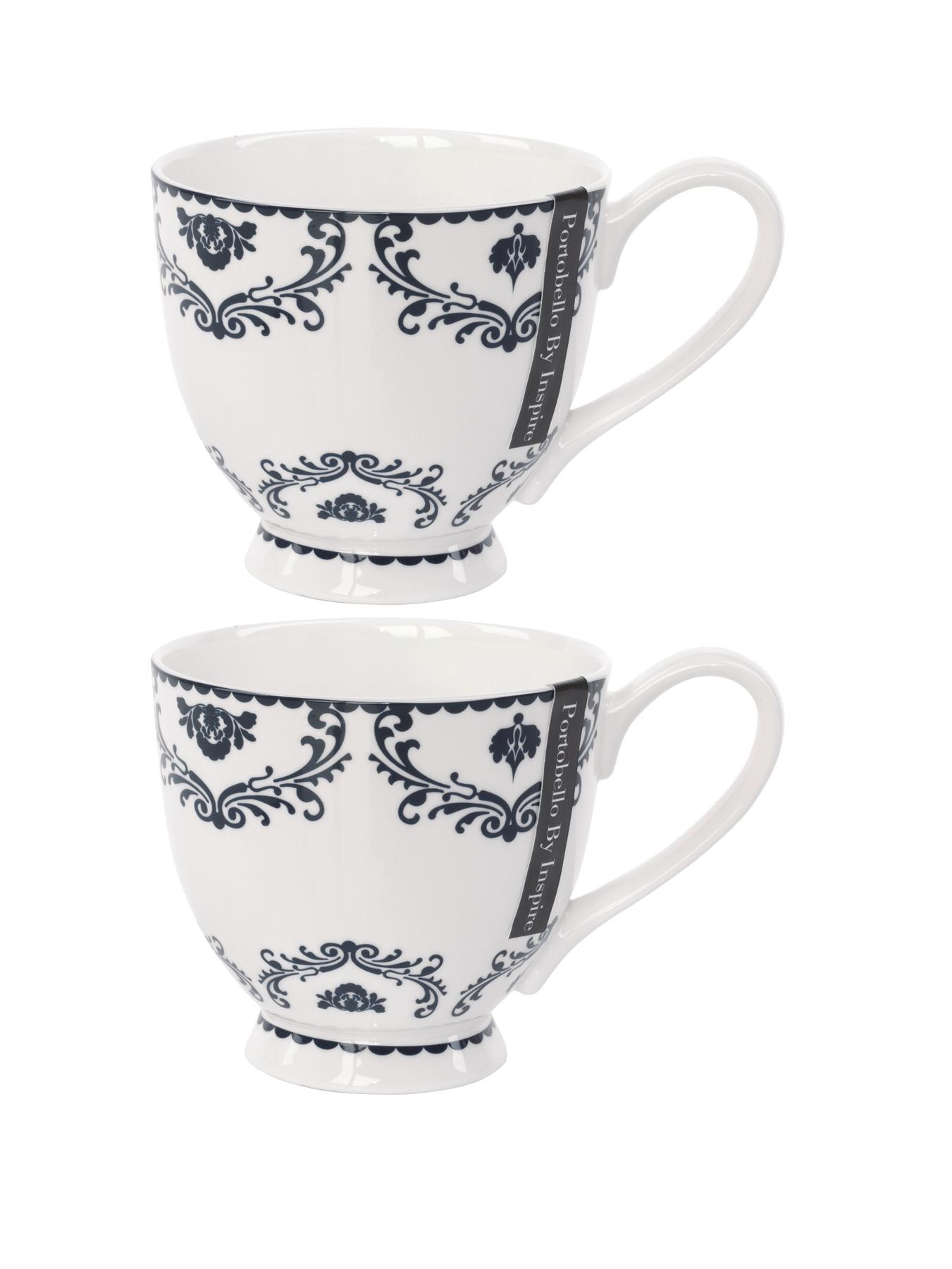Opulence Footed Mugs - Multi (set of 2)