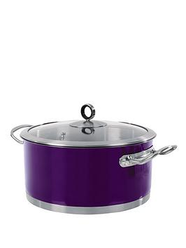 morphy-richards-casserole-pan-24-cm-purple