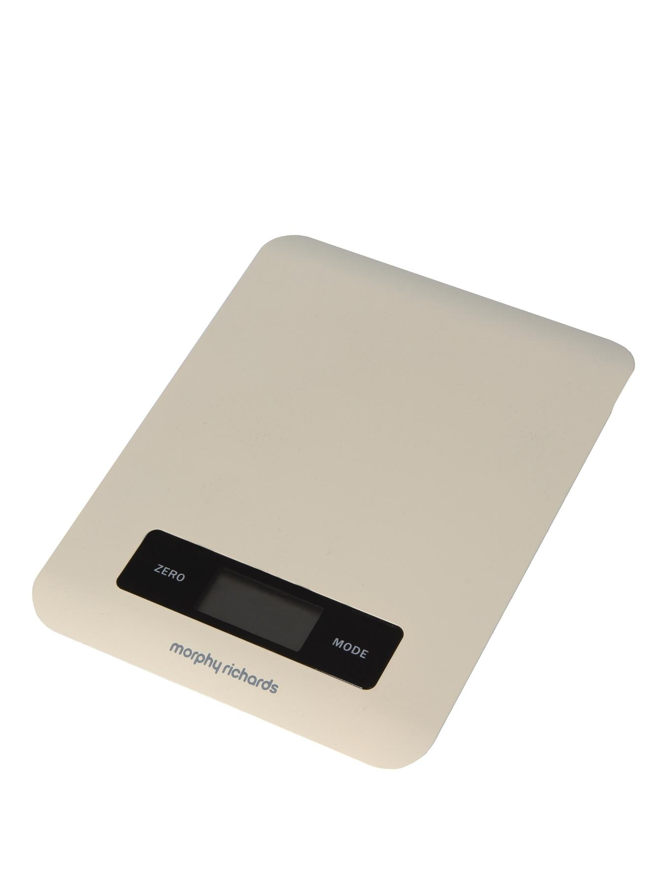 Electronic Kitchen Scales - Cream