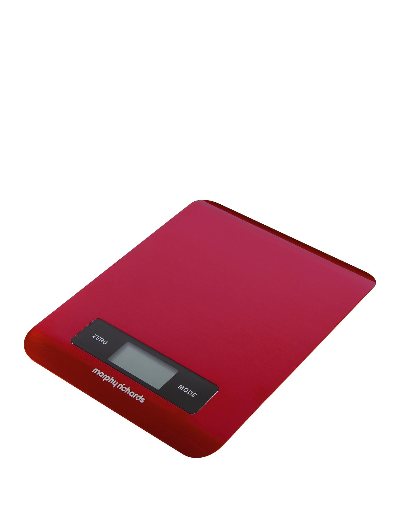 Electronic Kitchen Scale - Red