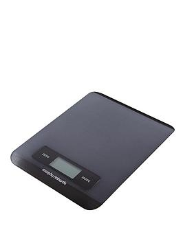morphy-richards-electronic-kitchen-scales-black