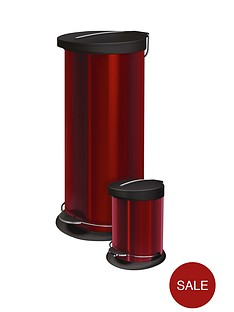 red-30-litre-pedal-bin-with-free-5-litre