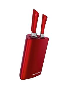 morphy-richards-tri-knife-block-5-piece-red