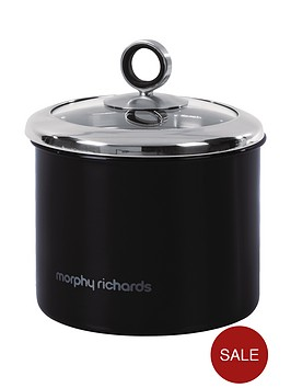morphy-richards-small-storage-canister-black