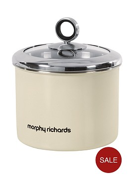 morphy-richards-small-storage-canister-cream