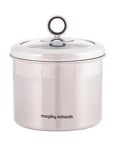 morphy-richards-small-storage-canister-stainless-steel