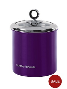 morphy-richards-large-storage-canister-purple
