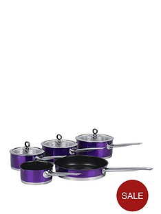 morphy-richards-5-piece-pan-set-purple
