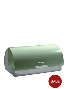morphy-richards-roll-top-bread-bin-sage