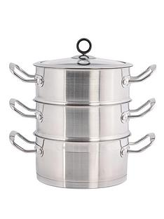 morphy-richards-18cm-3-tier-steamer-stainless-steel