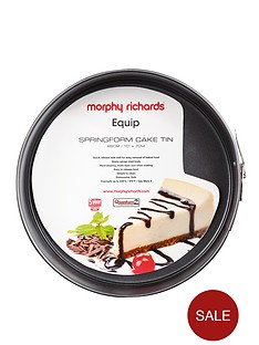 morphy-richards-26cm-springform-cake-tin