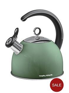 morphy-richards-whistling-kettle-25-litre-sage