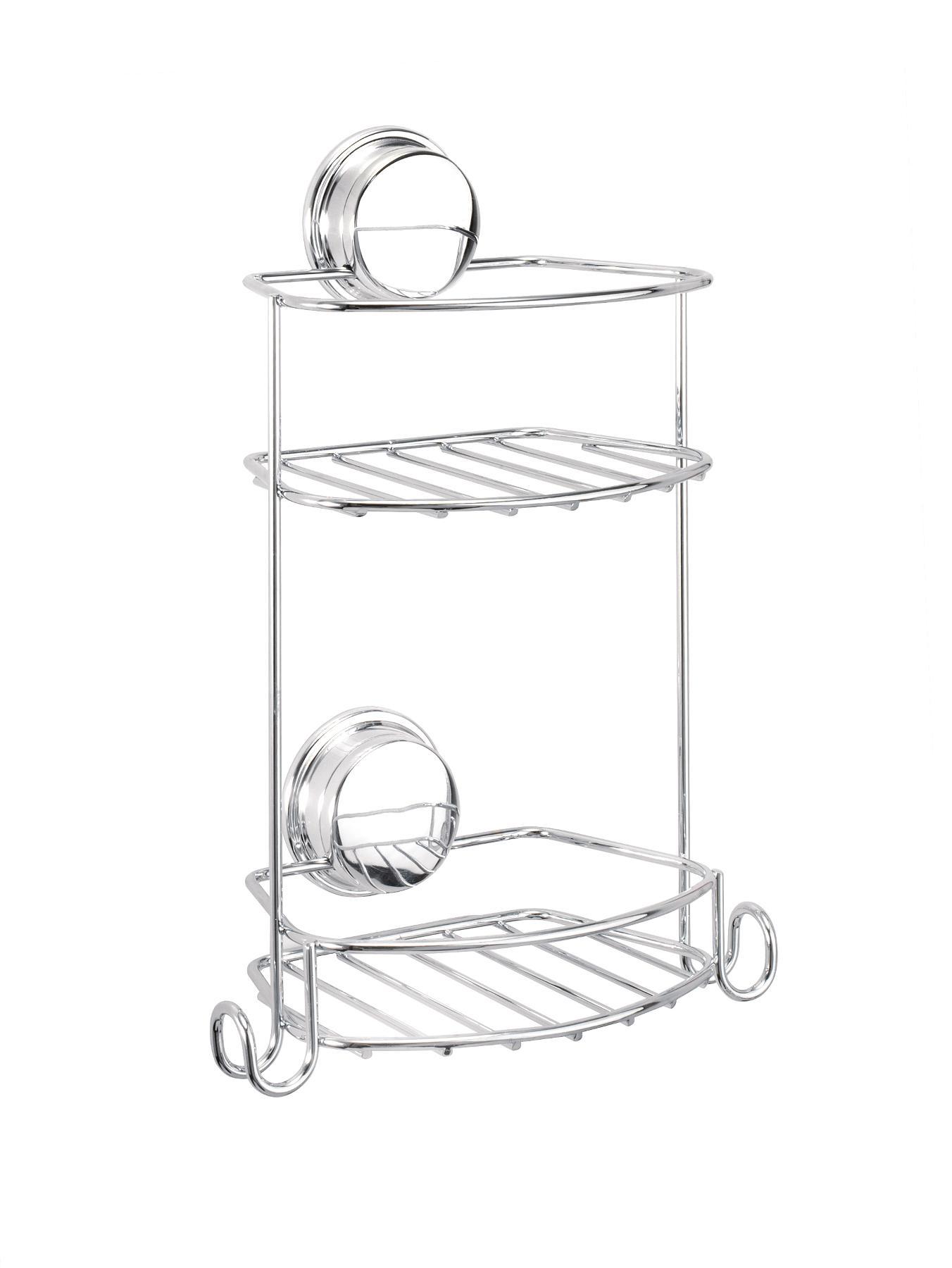 Stick 'N' Lock 2 Compact Tier Storage Basket