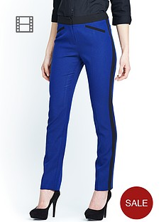 petite-basket-weave-skinny-trousers