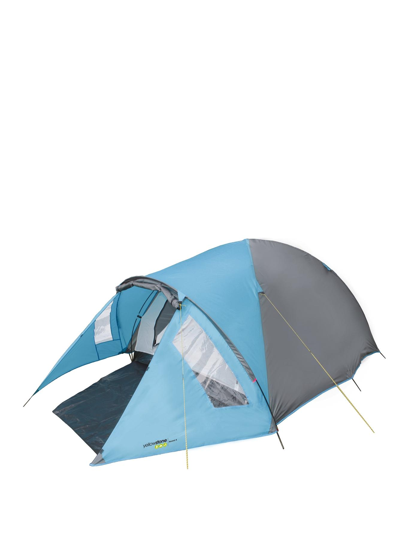 Ascent 4-Person Tent - Blue