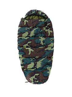 highland-trail-boys-cowl-camo-khaki-sleeping-bag