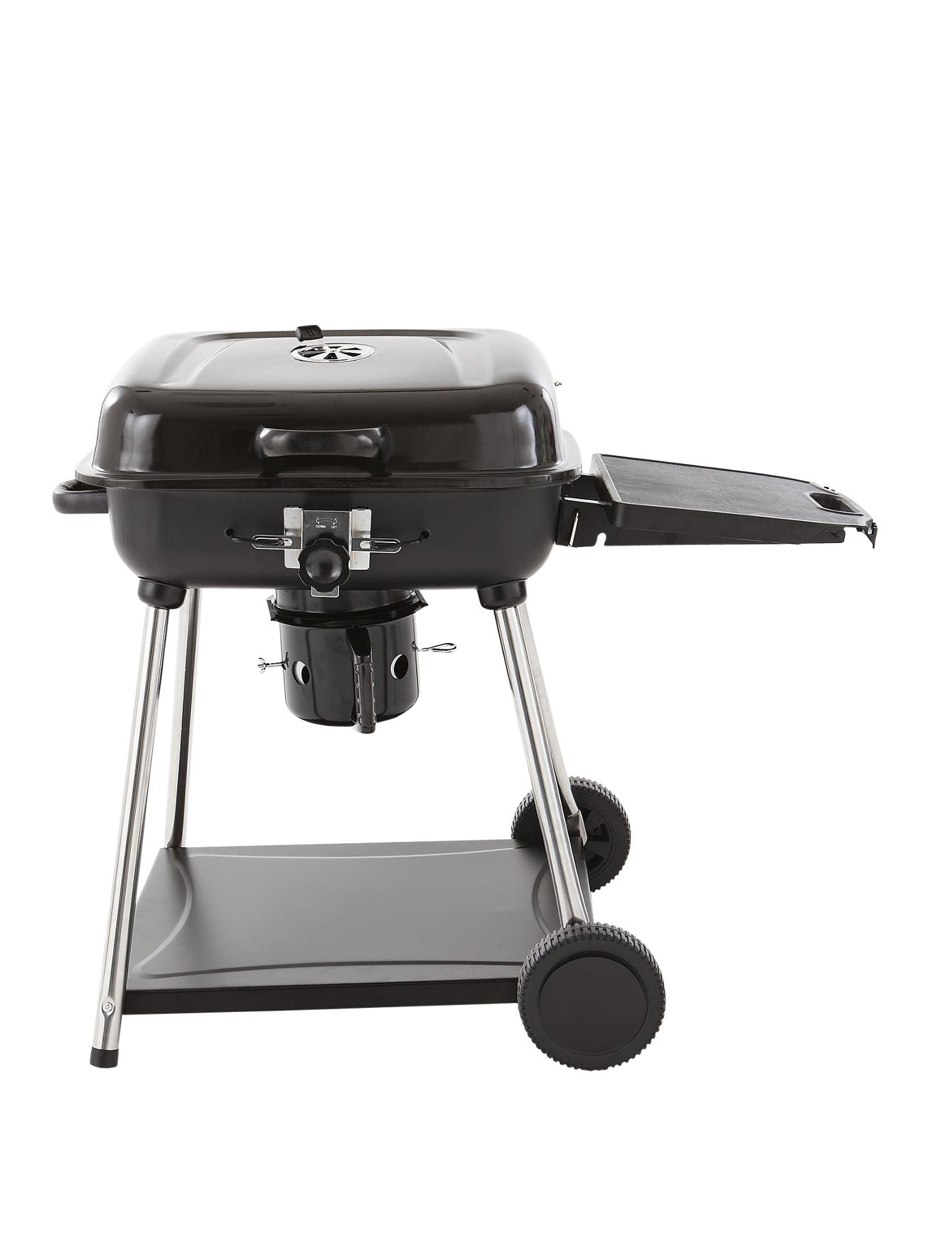 New Grand Charcoal BBQ Grill plus Warming Rack
