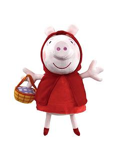 peppa-pig-supersoft-10-inch-plush-red-riding-hood-peppa