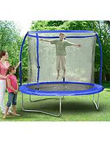 8 ft Quad Lok Skyring Trampoline and Enclosure