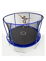 10ft Quad Lok Skyring Trampoline and Enclosure