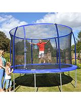 14 ft Quad Lok Skyring Trampoline and Enclosure