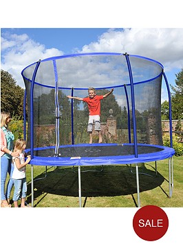 sportspower-14-ft-quad-lok-skyring-trampoline-and-enclosure