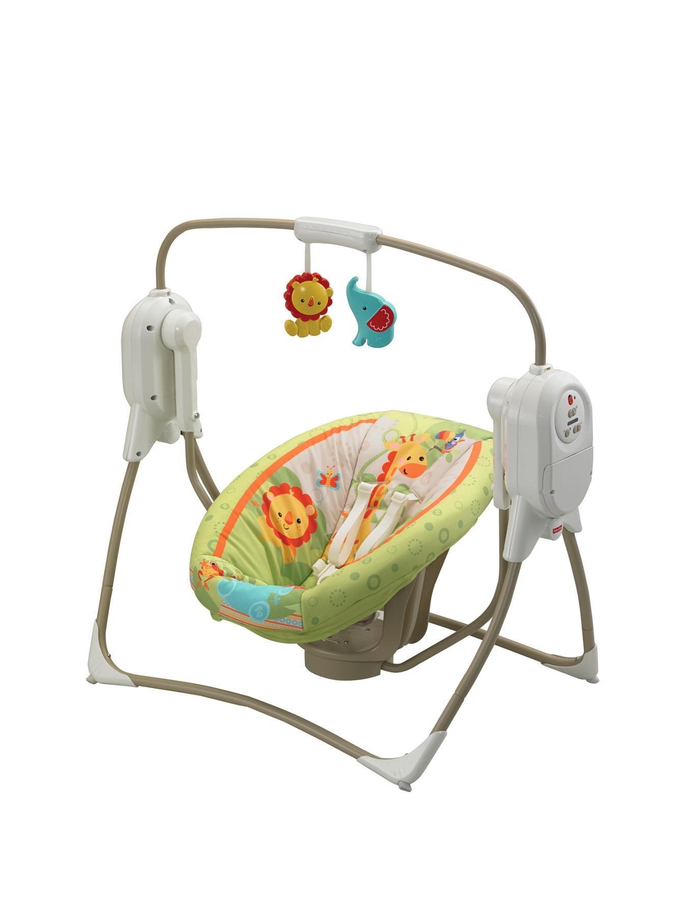 Rainforest Friends SpaceSaver Cradle 'n Swing