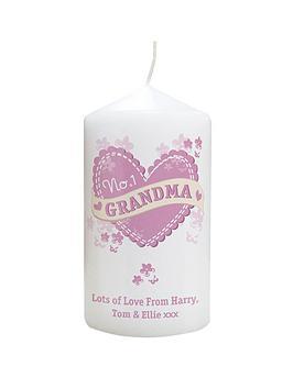 personalised-no1-nan-candle