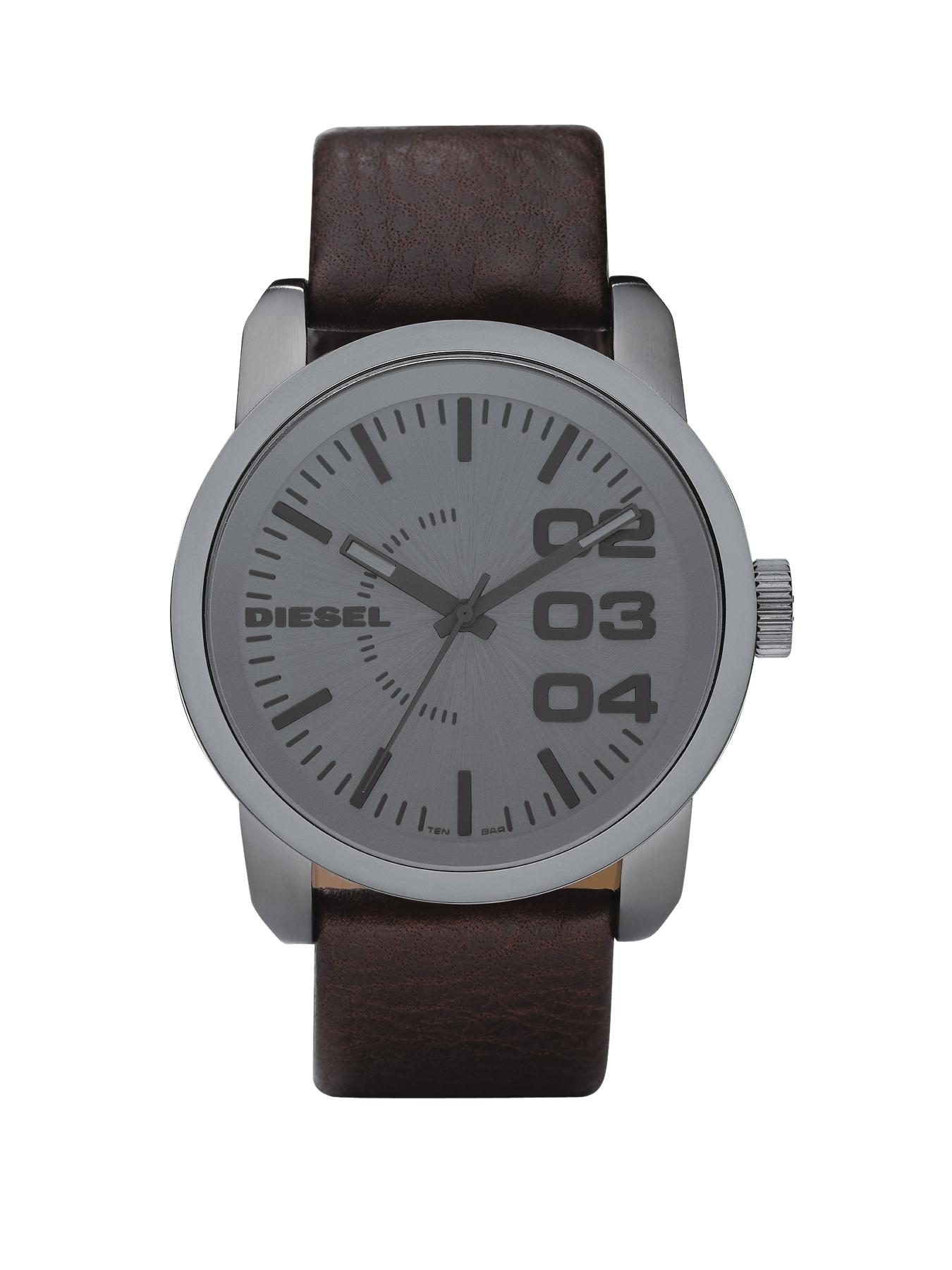 Franchise Brown Leather Strap Mens Watch