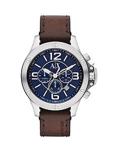 armani-exchange-blue-dial-stainless-steel-and-brown-leather-strap-mens-watch