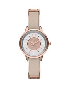 armani-exchange-silver-dial-rose-gold-ip-plated-and-nude-leather-strap-ladies-watch