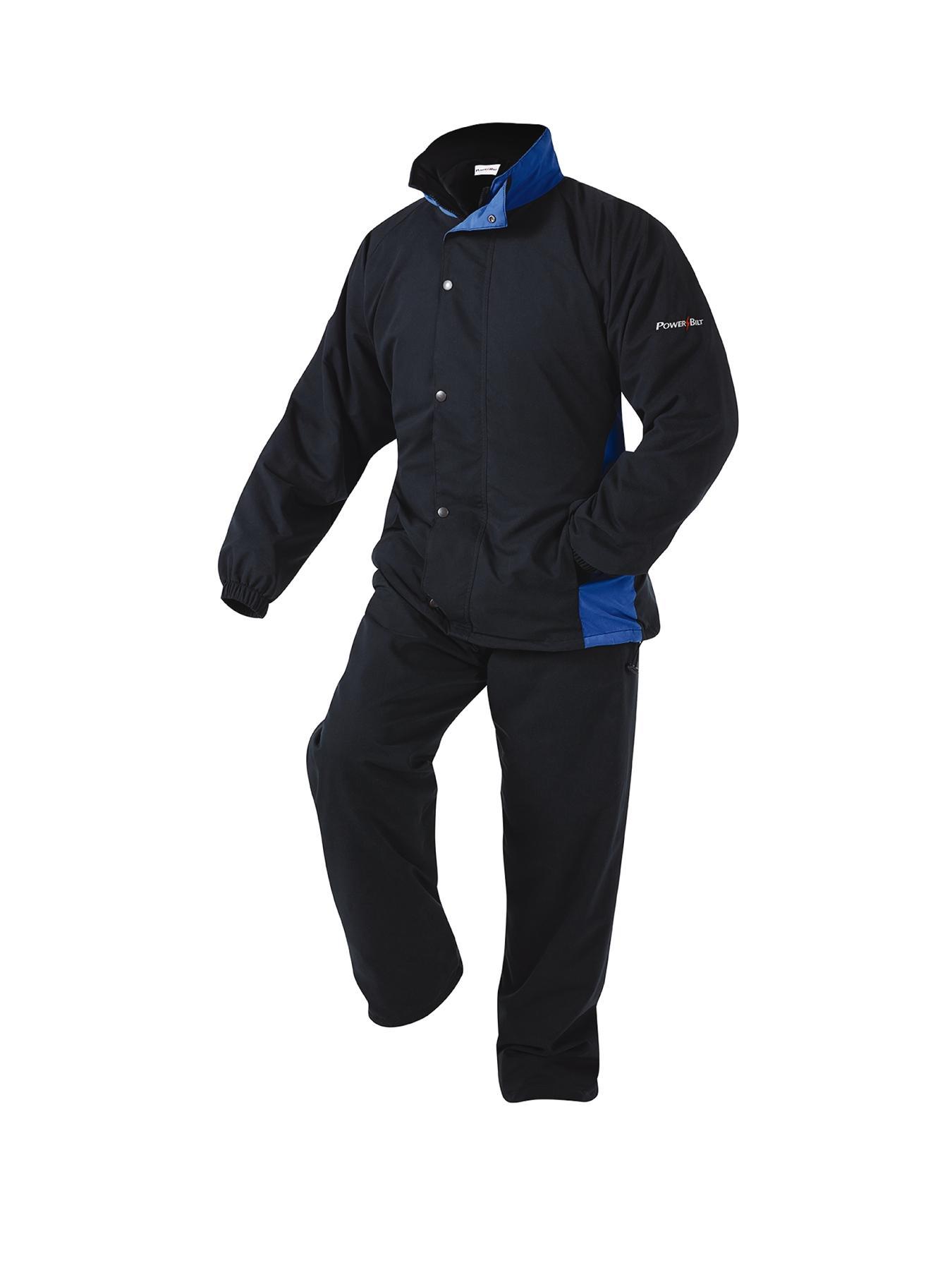 Powerbilt Nimbus Waterproof Mens Golf Suit, Black