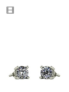 moissanite-1-carat-moissanite-9-carat-white-gold-solitaire-earrings
