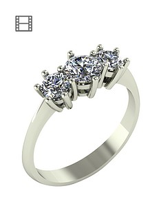 moissanite-1-carat-moissanite-9-carat-white-gold-trilogy-ring