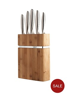 richardson-sheffield-forme-contour-bamboo-5-piece-knife-block