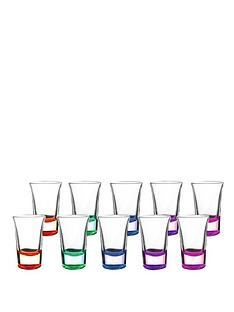 ravenhead-set-of-10-coloured-shot-glasses