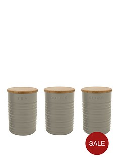 typhoon-stone-ripple-tea-coffee-and-sugar-canisters-3-pack