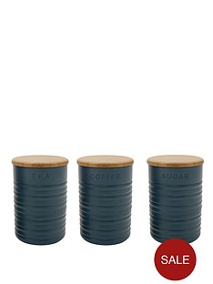 typhoon-slate-ripple-tea-coffee-and-sugar-canisters-3-pack