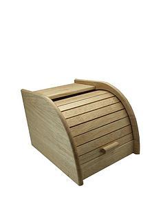 apollo-rubber-wood-mini-roll-top-bread-bin