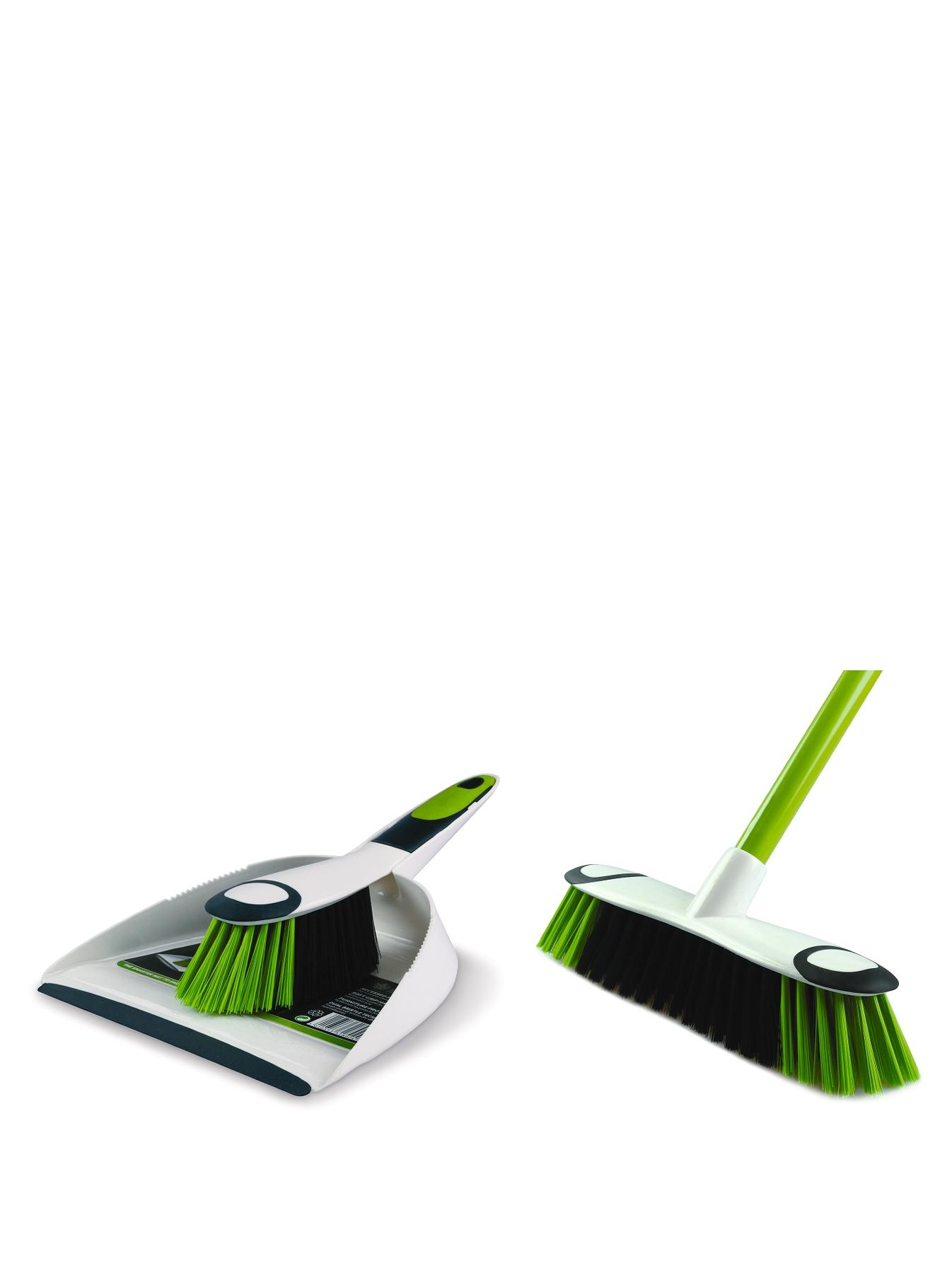 Dust Pan, Brush and Broom Set at Littlewoods