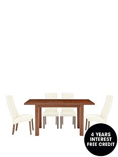 primo-extending-table-and-4-buckingham-chairs