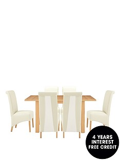 primo-extending-dining-table-and-6-sienna-chairs